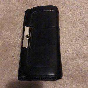 Coach wallet in black